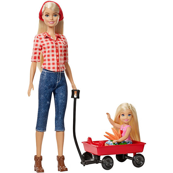 Barbie Farm Barbie + Chelsea Puppen