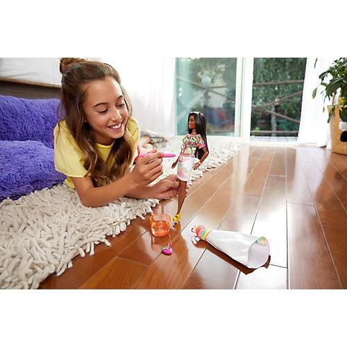 """Набор с куклой Barbie x Crayola """"Фруктовый сюрприз"""", брюнетка от Mattel"""