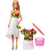 """Набор с куклой Barbie x Crayola """"Фруктовый сюрприз"""", блондинка"""