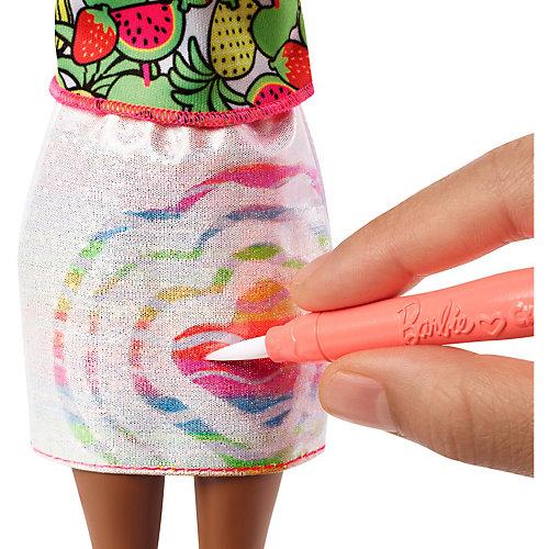 """Набор с куклой Barbie x Crayola """"Фруктовый сюрприз"""", блондинка от Mattel"""
