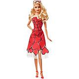 Коллекционная кукла Barbie в красном платье