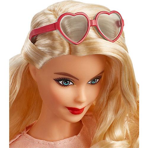 Коллекционная кукла Barbie в красном платье от Mattel