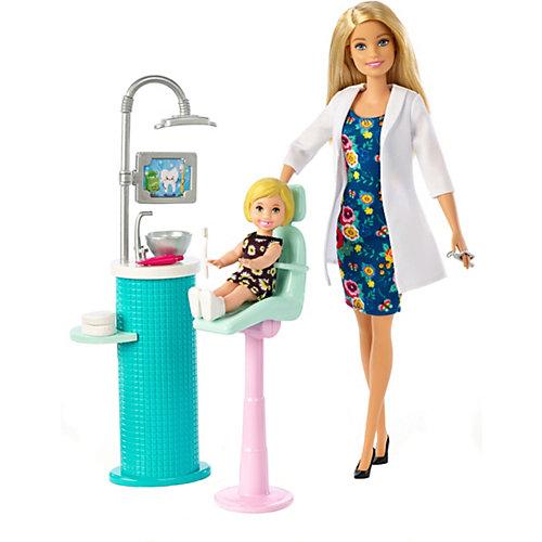 Кукла Barbie из серии «Кем быть?» Стоматолог от Mattel