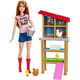 Кукла Barbie из серии «Кем быть?» Птичница