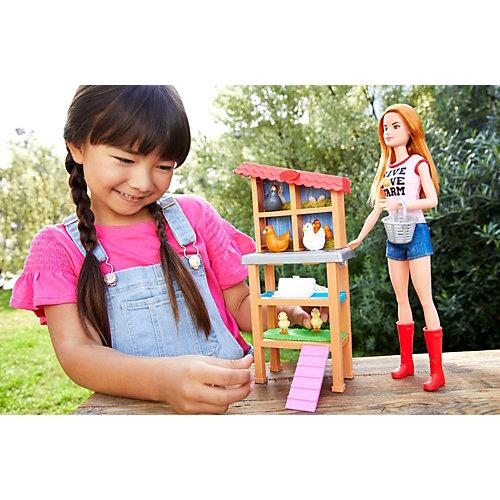 Кукла Barbie из серии «Кем быть?» Птичница от Mattel