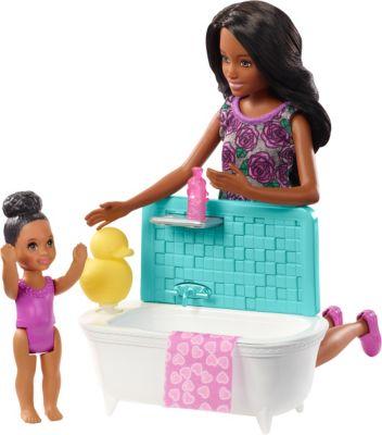 Babysitter Kind Möbel AUSWAHL: Mattel Puppe und Spielset Barbie Skipper