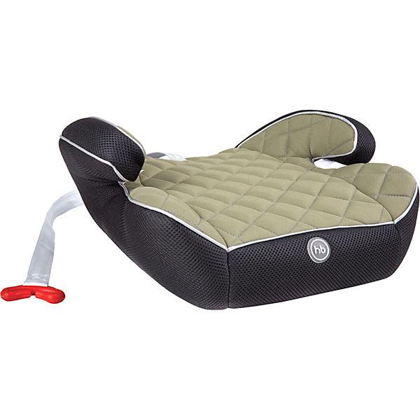 Автокресло-бустер Happy Baby Booster Rider, 15-36 кг, green