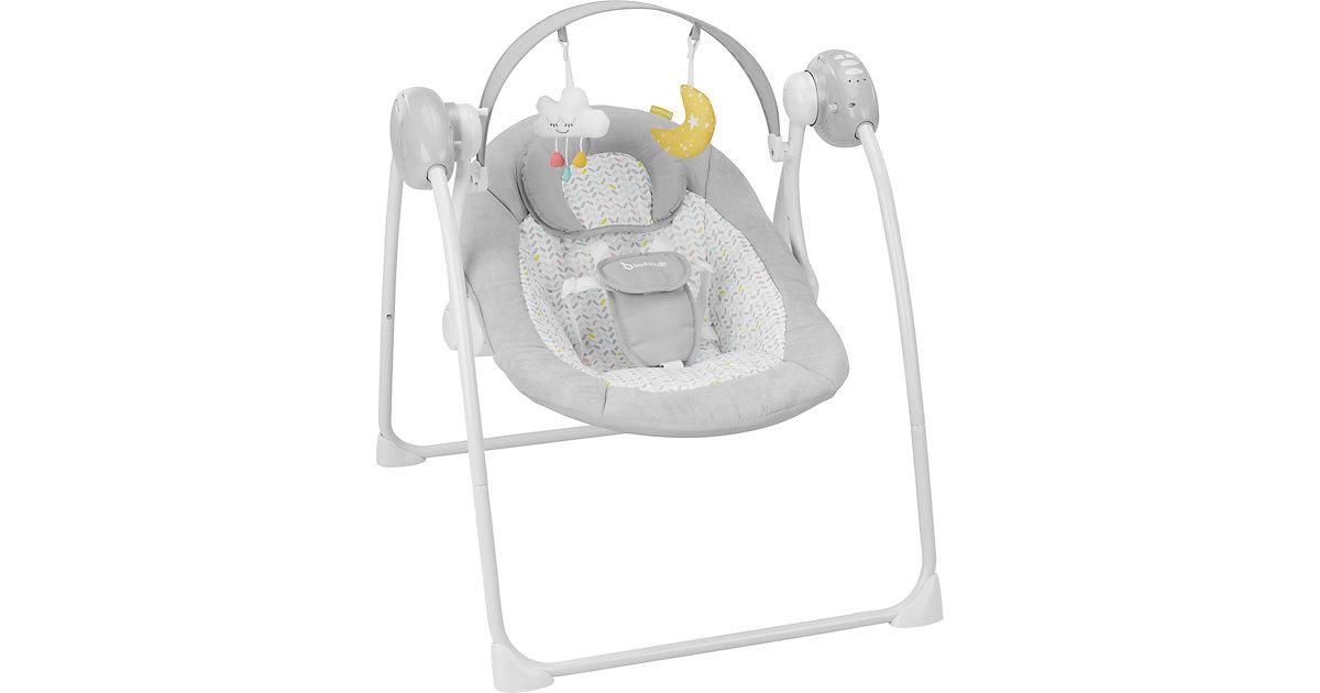 Badabulle · Babyschaukel Komfort Candy, weiß/hellgrau