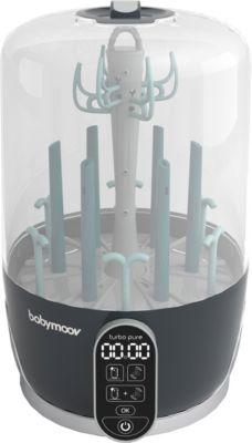 Elektrischer Dampfsterilisator & Trockner Turbo-Pure, petrol/grau