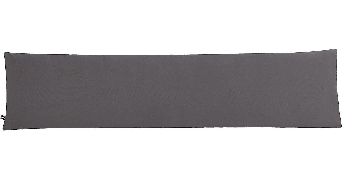ZÖLLNER · Seitenschläferkissen Panama, anthrazit, 40 x 160 cm