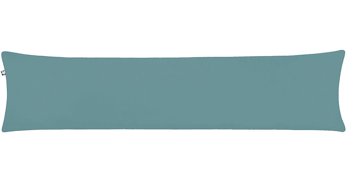 ZÖLLNER · Seitenschläferkissen Piqué, Greenery, 40 x 160 cm