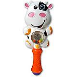 """Музыкальная игрушка Азбукварик """"Зверюшка-погремушка"""" Му-му"""