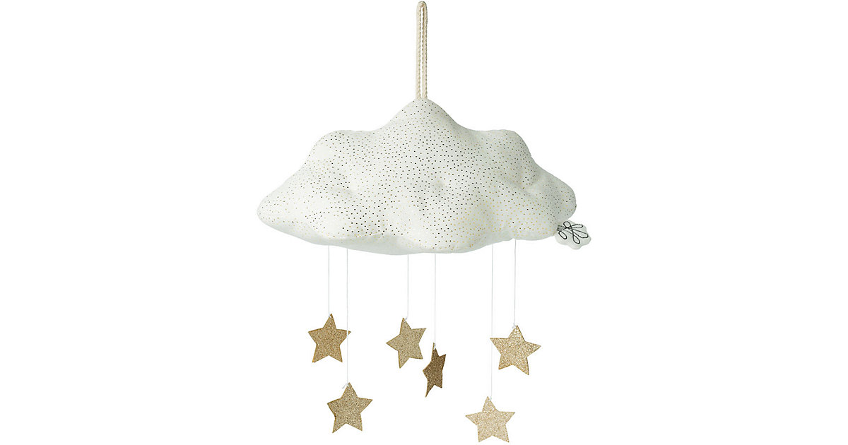 Picca LouLou · Mobile ´´Wolke´´ mit Sternen [weiß, 34cm]