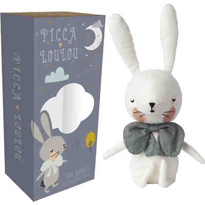 "Stofftier Picca Loulou ""Hase"" [weiß, 18cm]"