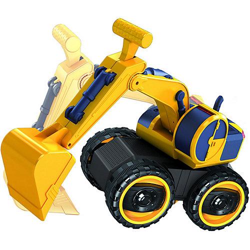 """Машинка Handers """"Большие колёса"""" Экскаватор с кабиной от Handers"""
