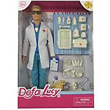 """Игровой набор с куклой Defa Lucy """"Папа ветеринар"""""""