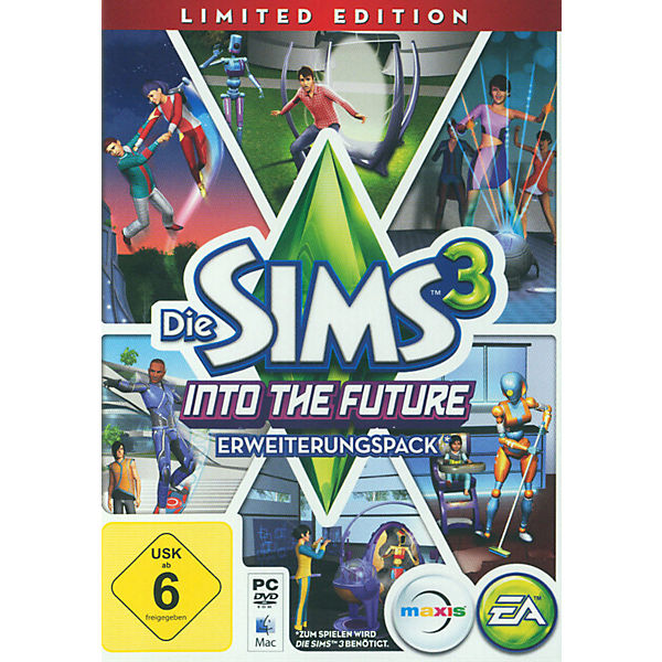 PC Die Sims 3 - Into the Future Limited Edition (Add on)
