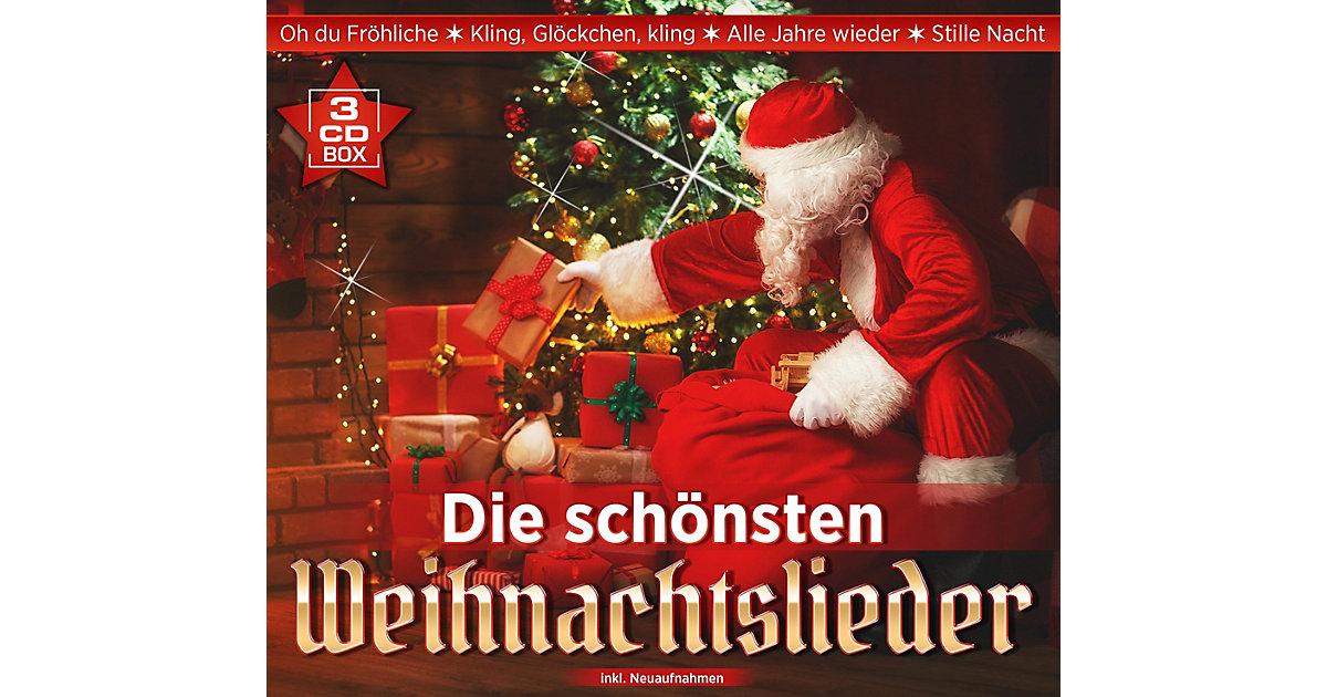 CD Die schönsten Weihnachtslieder (3 CDs - ALPHA EXCLUSIV) Hörbuch