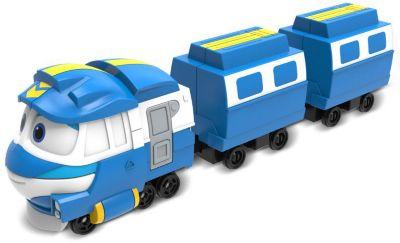Паровозик с двумя вагонами Silverlit Robot Trains Кей