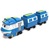 """Паровозик с двумя вагонами Silverit """"Robot Trains"""" Кей"""
