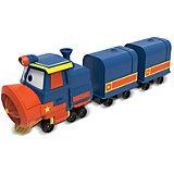 """Паровозик с двумя вагонами Silverit """"Robot Trains"""" Виктор"""