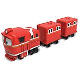 """Паровозик с двумя вагонами Silverit """"Robot Trains"""" Альф"""