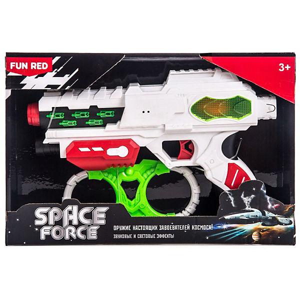 "Игровой набор Fun Red ""Space Force"" Бластер и наручники"