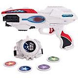 """Игровой набор Fun Red """"Space Force"""" Бластер и часы"""