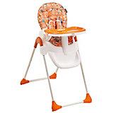 Стульчик для кормления Happy Dino LY508, оранжевый