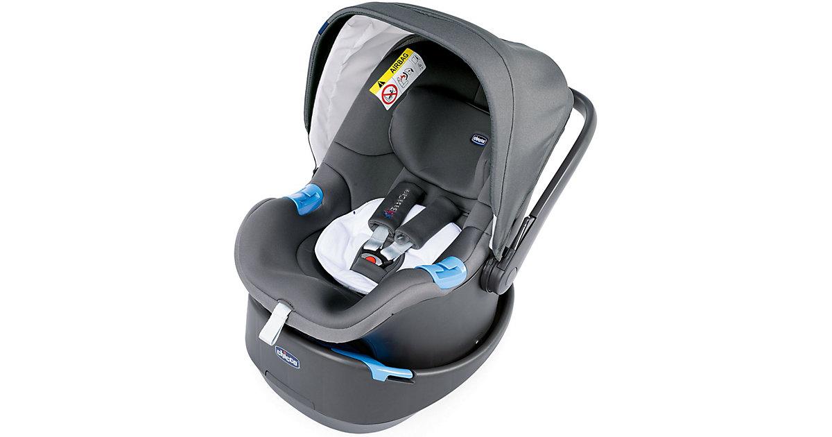 Chicco · Babyschale OASYS, Cool Grey, 2019 Gr. 0-13 kg