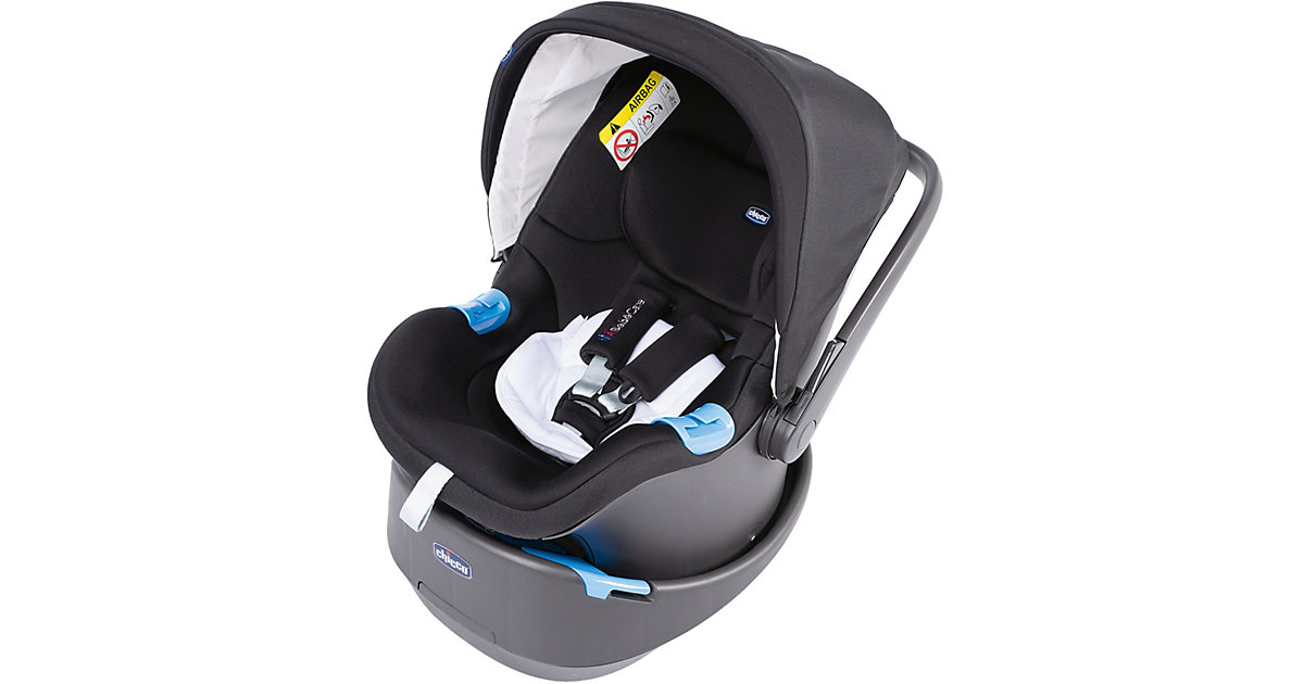 Chicco · Babyschale OASYS, Pure Black, 2019 Gr. 0-13 kg