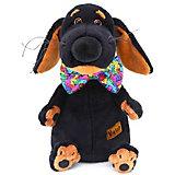 Мягкая игрушка Budi Basa Собака Ваксон в галстуке-бабочке в пайетках, 29 см