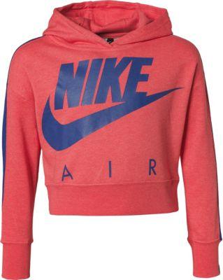 Kapuzenpullover CROP PE für Mädchen, Nike Sportswear