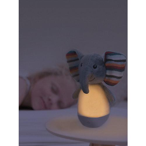 """Ночник-неваляшка Zazu """"Слонёнок Элли"""", серый от ZaZu"""