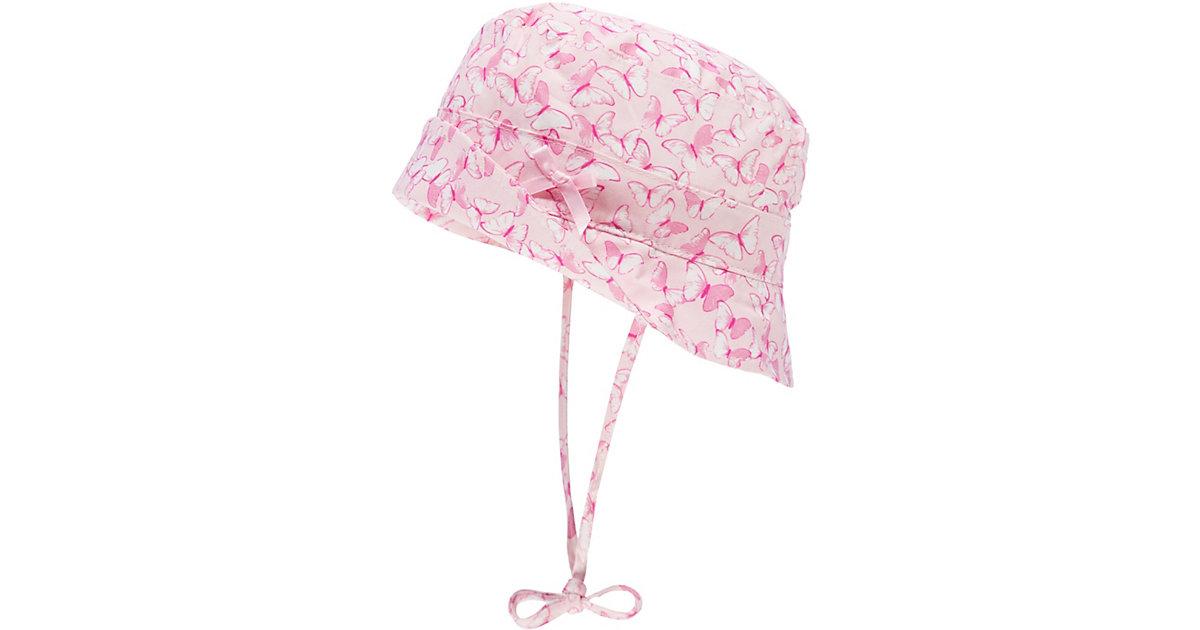 Sonnenhut mit UV-Schutz 30 zum Binden  rosa Gr. 51 Mädchen Kleinkinder