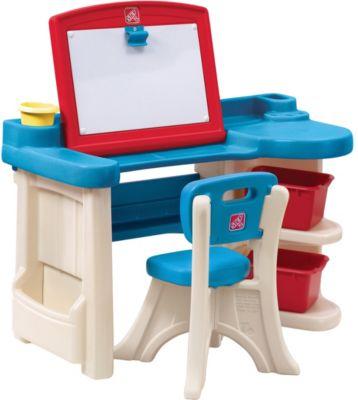 Schreibtisch mit Maltafel