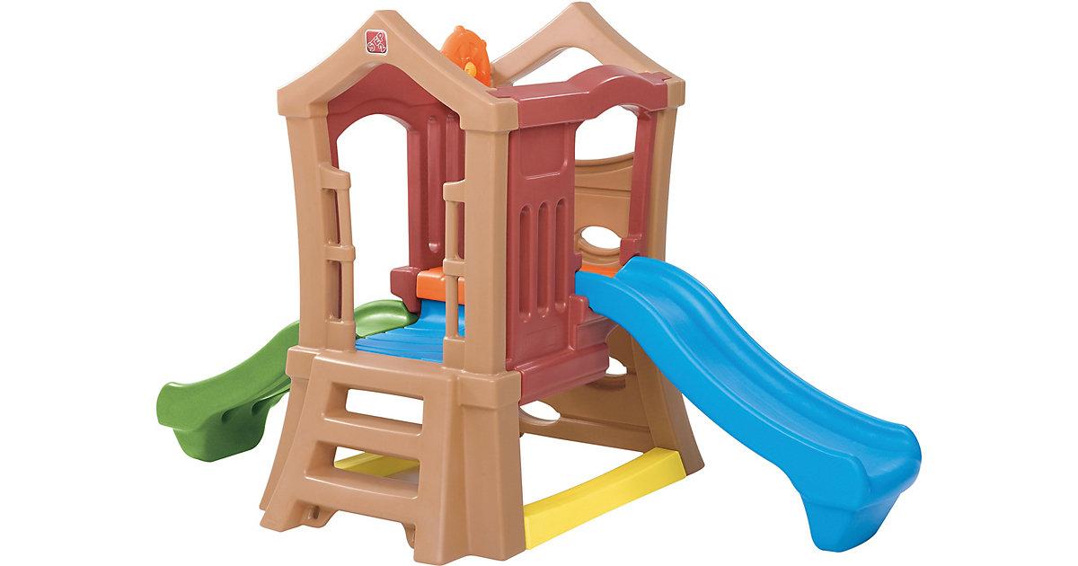 Spielturm Play Up mit Rutsche und Kletterwand