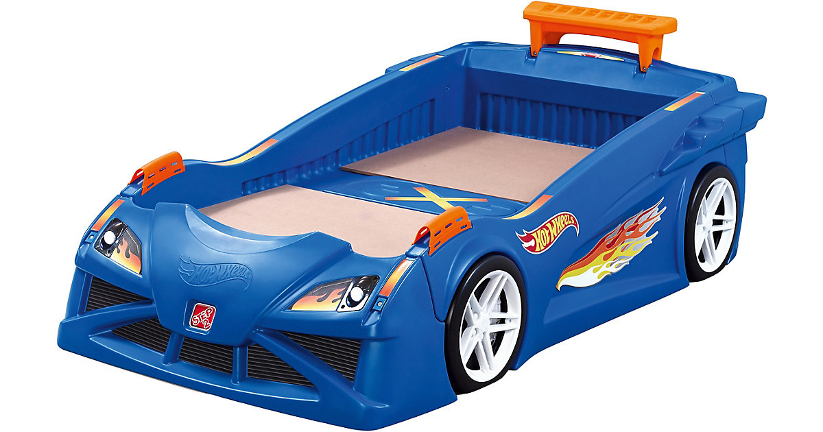 Hot Wheels Toddler-To-Twin Race Car Bed