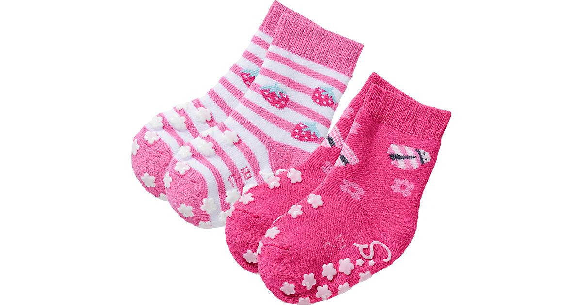 Sterntaler · Baby Haussocken Doppelpack Gr. 22 Mädchen Kleinkinder