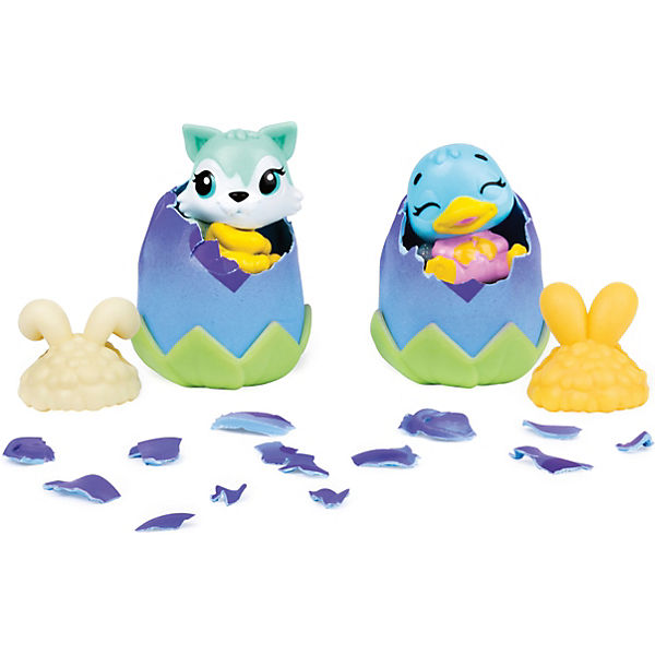 Hatchimals Colleggtibles Spring 2 Pack Bouncing Bunwees S5