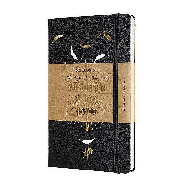 Moleskine Harry Potter Notizbuch Largea5 Liniert Hard Cover Schwarz Harry Potter