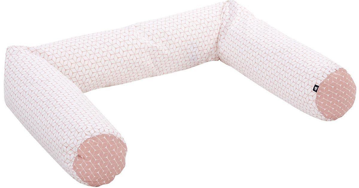 Alvi · Nestchenschlange, Raute rosa, 180 cm