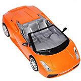 """Радиоуправляемая машинка Mioshi Tech """"Fast Car"""", оранжевая"""