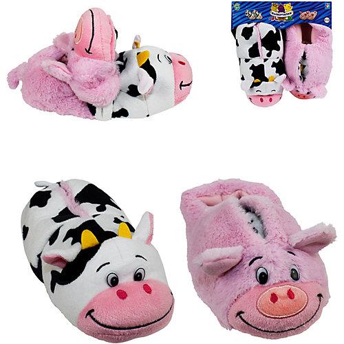 Вывертапки 1Toy Корова-Свинья, 31-33 см - разноцветный от 1Toy