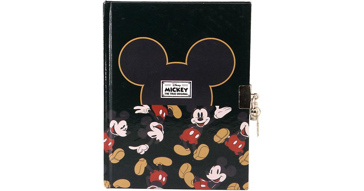 Disney · Tagebuch mit Schloss & Schlüssel A5 MICKEY M
