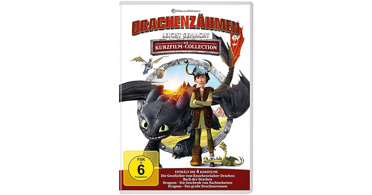 DVD Drachenzähmen leicht gemacht- Kurzfilm Collection Hörbuch
