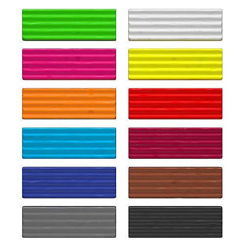 Классический пластилин Erich Krause ArtBerry с алоэ вера, Neon 12 цветов, 180 г от Erich Krause