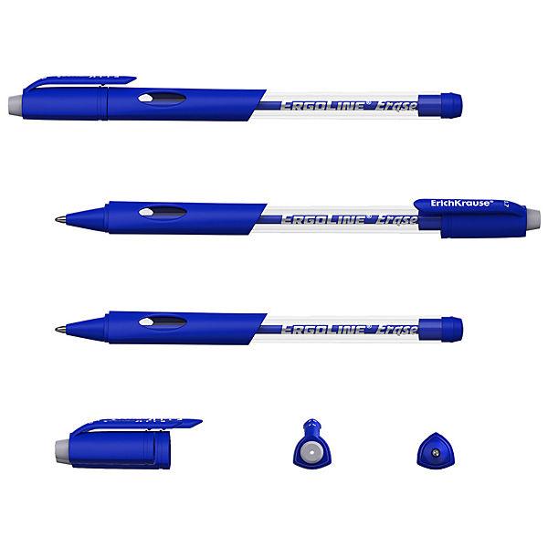 """Гелевая ручка сo стираемыми чернилами ErichKrause """"ErgoLine Erase"""", синяя"""