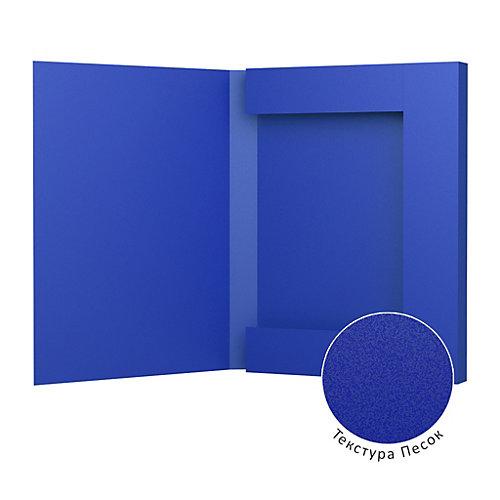 Пластиковая папка на резинках Erich Krause Classic 30 мм, A4, синяя от Erich Krause
