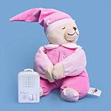 Игрушка для сна Doodoo Мишка Жульет, в розовой пижамке